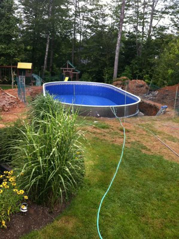 Semi inground pools pool supplies canada - Swimming pool installation companies ...